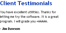 Client Review on Lotus Notes Conversion Tool